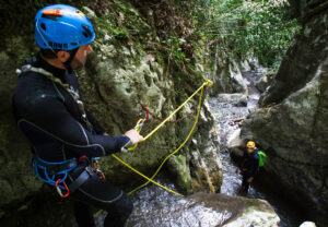 canyoning discese nei torrenti e nelle forre in val di lima e garfagnana