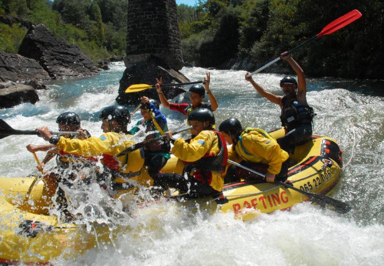 rafting sui fiumi della Val di Lima in Toscana