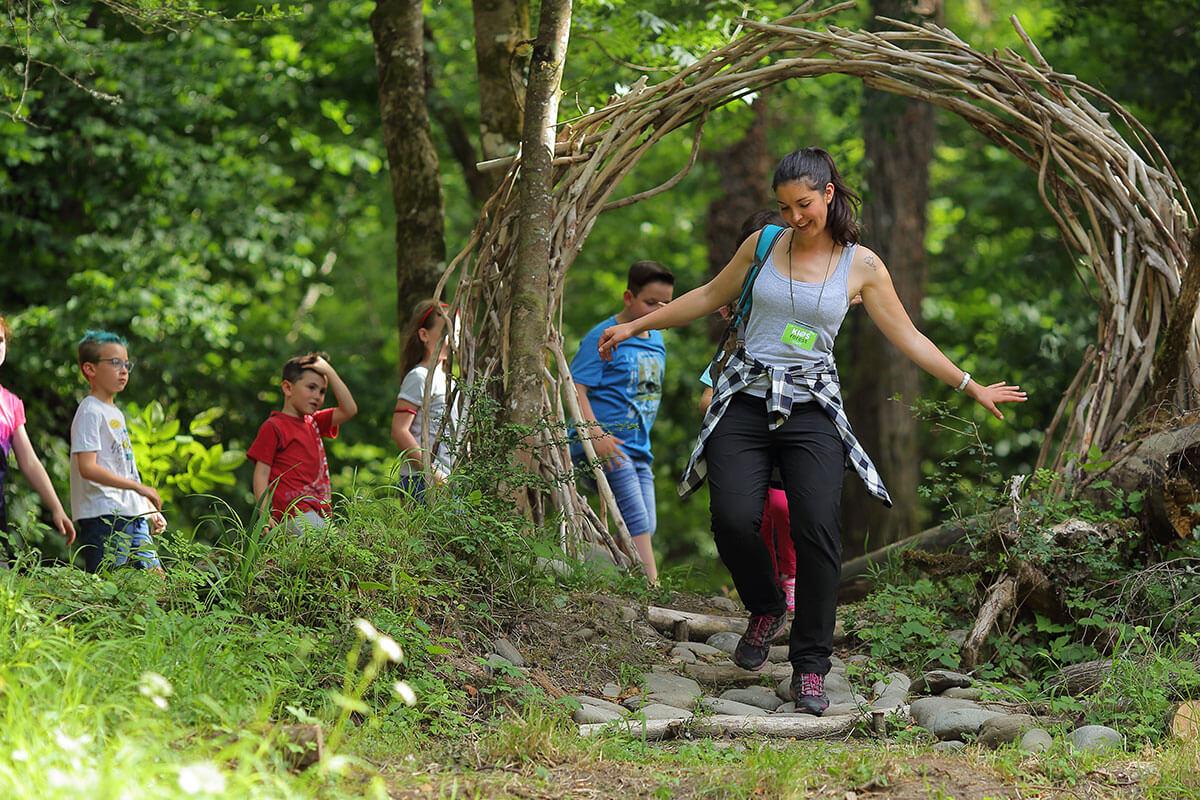 Attività per bambini nella natura Toscana